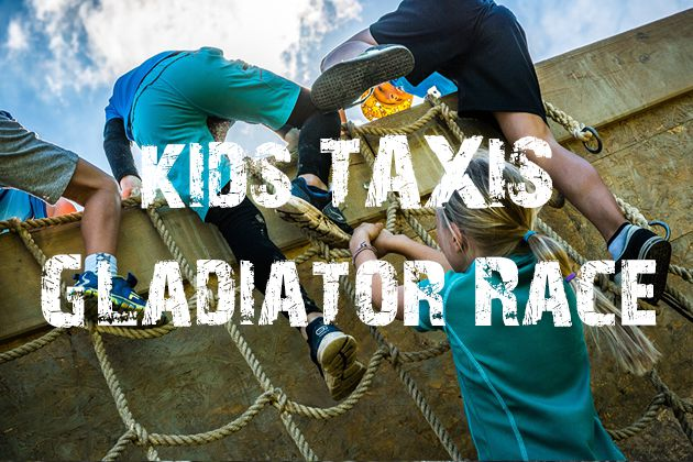 Kids TAXIS Gladiator Race