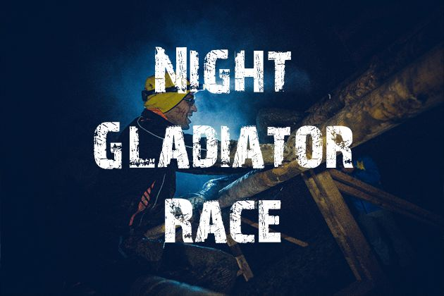 Night Winter Gladiator Race