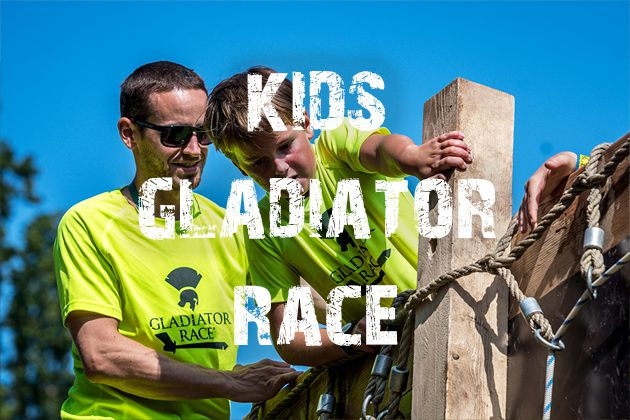 Kids Gladiator Race / RUN BRNO