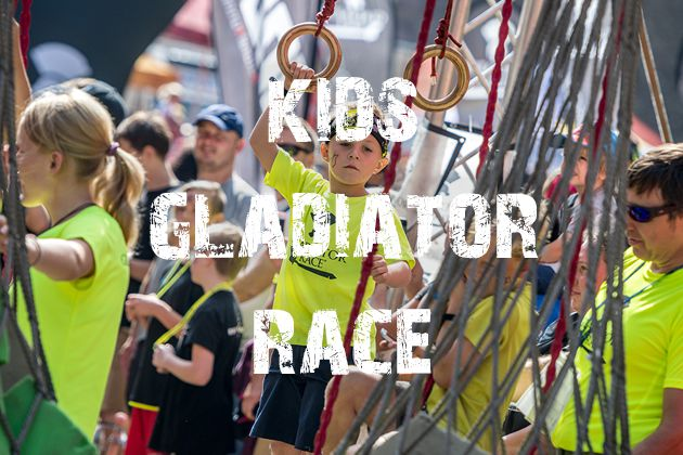 Kids Gladiator Race / RUN LANŠKROUN